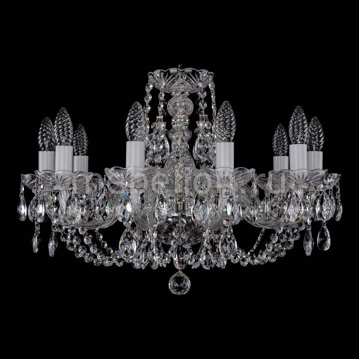 Подвесная люстра Bohemia Ivele Crystal 1406/10/195/Ni 1406