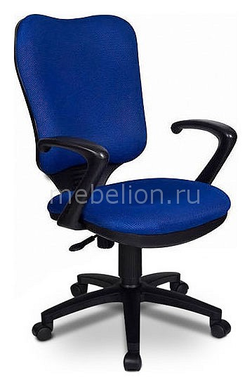 Кресло компьютерное H-540AXSN синее  складной пуфик короб