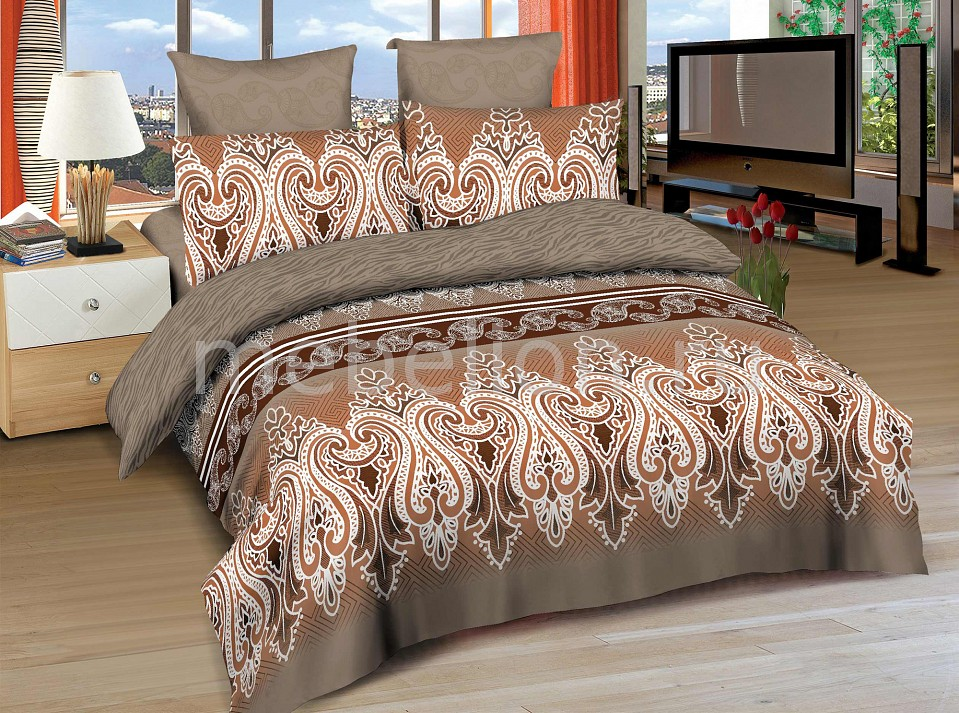 Комплект двуспальный Amore Mio BZ Tabriz постельное белье amore mio bz tabriz комплект 1 5 спальный сатин 86487
