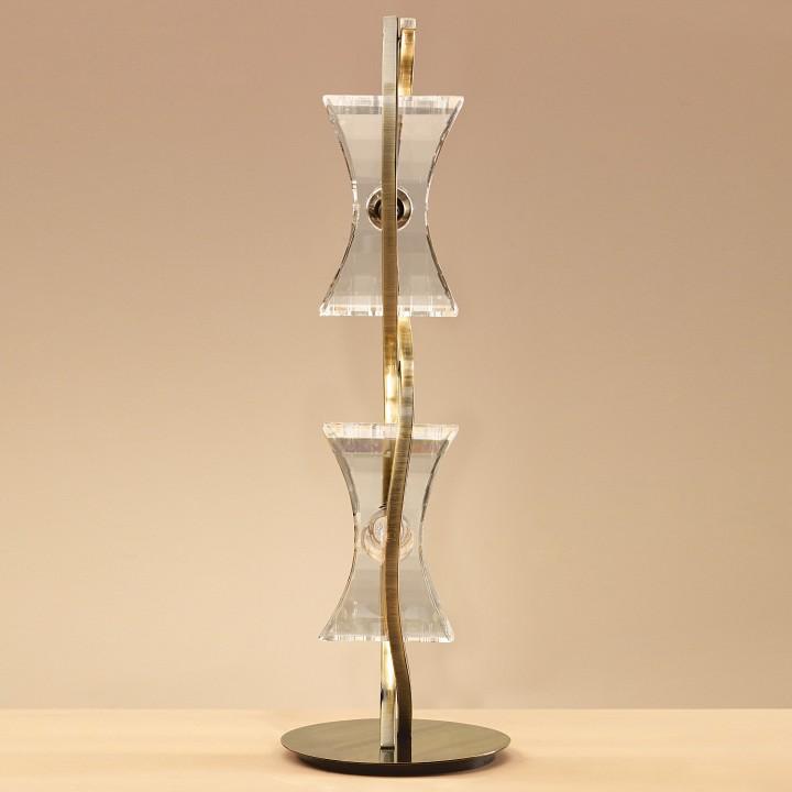 Настольная лампа Mantra 0876 Krom Cuero