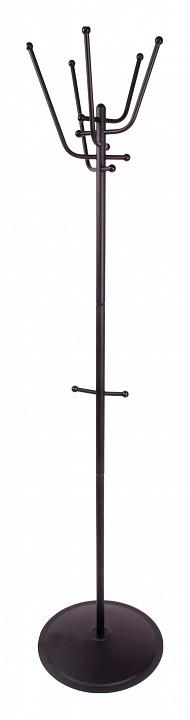 Вешалка напольная Мебелик Вешалка-стойка Пико 9 черный цена и фото