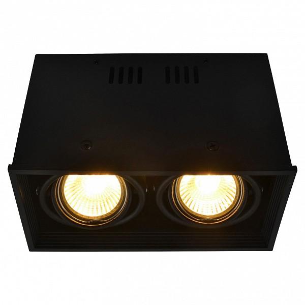 Накладной светильник Cardani A5942PL-2BK