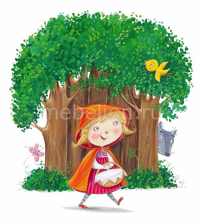 Панно (30х40 cм) Little Red Riding Hood 315760