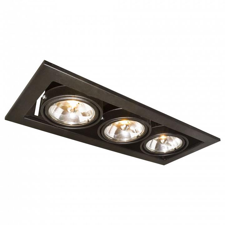 Купить Встраиваемый светильник Technika 2 A5930PL-3BK, Arte Lamp, Италия
