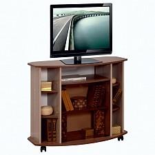 Тумба под ТВ Олимп-мебель Стелла-М01 ясень шимо темный/ясень шимо светлый