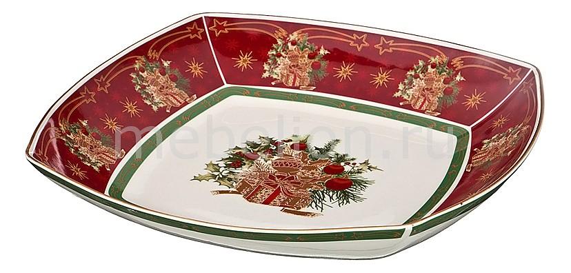 Салатник (33х33х5 см) Christmas collection 586-303