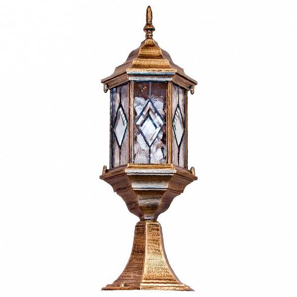 Наземный низкий светильник Feron Витраж с ромбом 11346 FE_11346