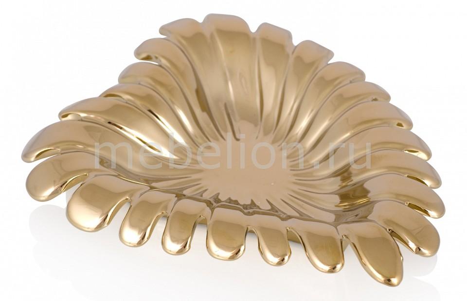 Блюдо декоративное (42х35 см) Black & Gold 203712