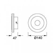 Накладной светильник Mantra 5123 Sol