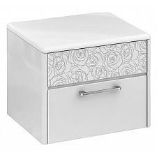Тумбочка Мебель Трия Амели ТД-193.03.01 белый глянец
