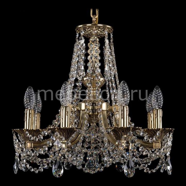 Подвесная люстра Bohemia Ivele Crystal 1771/8/150/C/GB 1771