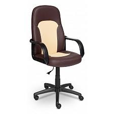Кресло компьютерное Parma коричневый_бежевый
