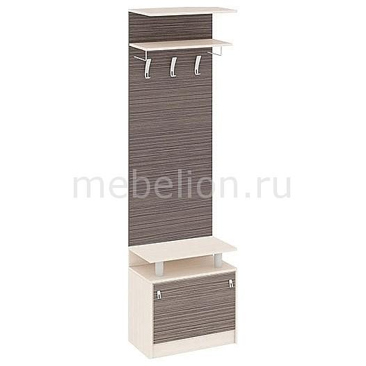 Вешалка напольная Мебель Трия Вешалка корпусная Нова 4 дуб белфорт/каналы дуба корпусная мебель