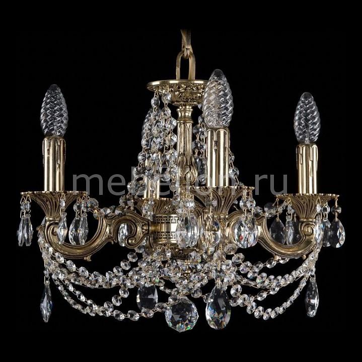 Подвесная люстра Bohemia Ivele Crystal 1707/4/125/C/GB 1707