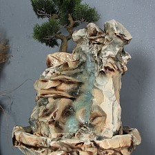 Фонтан напольный (42х130 см) Горная сосна Ф363