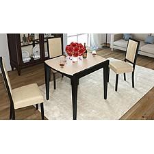 Стол обеденный Танго Т1 С-361 венге/стекло