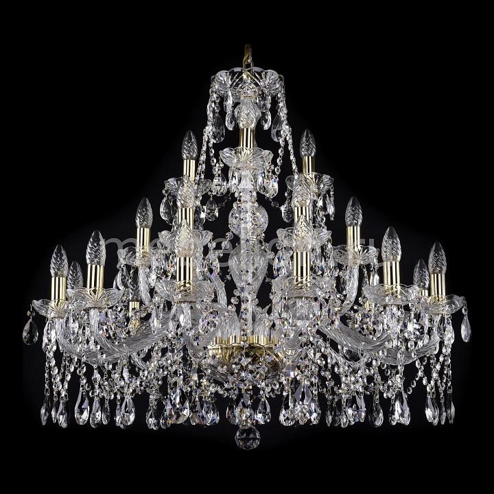 Подвесная люстра Bohemia Ivele Crystal 1413.12+6+3.300.G 1413