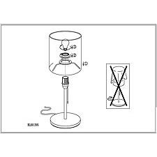Настольная лампа Eglo 91395 Chicco 1