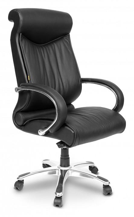 Кресло для руководителя Chairman 420 черный/хром, черный