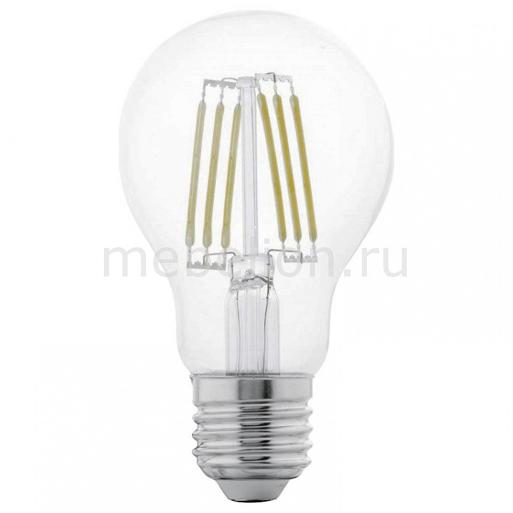 Лампа светодиодная [поставляется по 10 штук] Eglo Лампа светодиодная A60 E27 6,5Вт 2700K 11534 [поставляется по 10 штук] цена