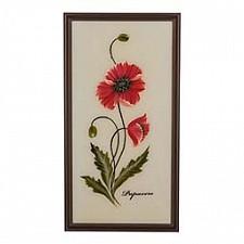 Панно (25х50 см) Цветы 354-790