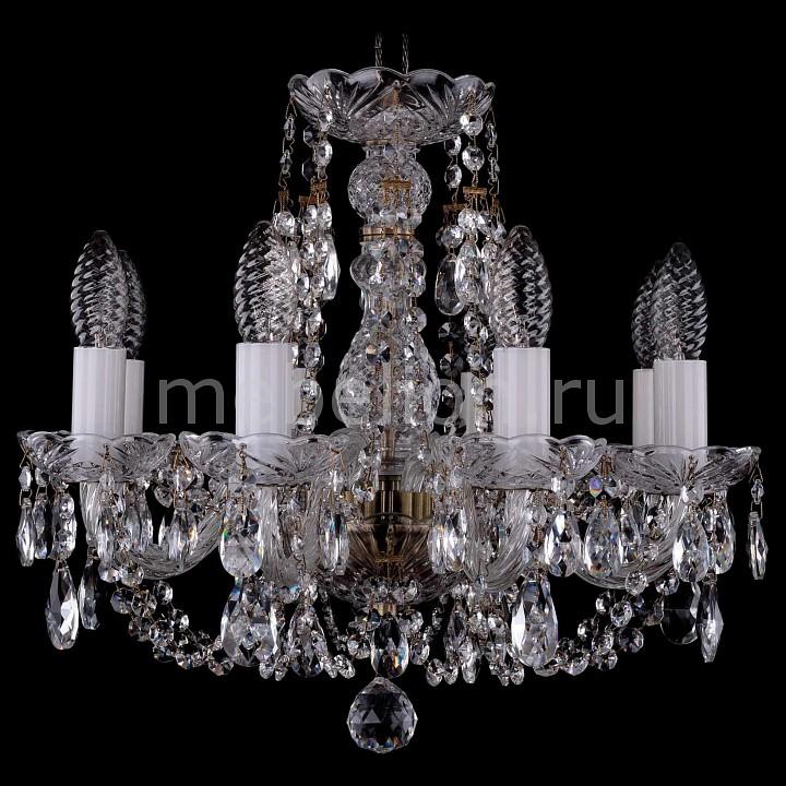 Подвесная люстра Bohemia Ivele Crystal 1406/8/141/Pa 1406