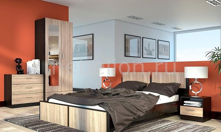 Гарнитур для спальни Флёр 2 дуб феррара/дуб сонома mebelion.ru 2580.000