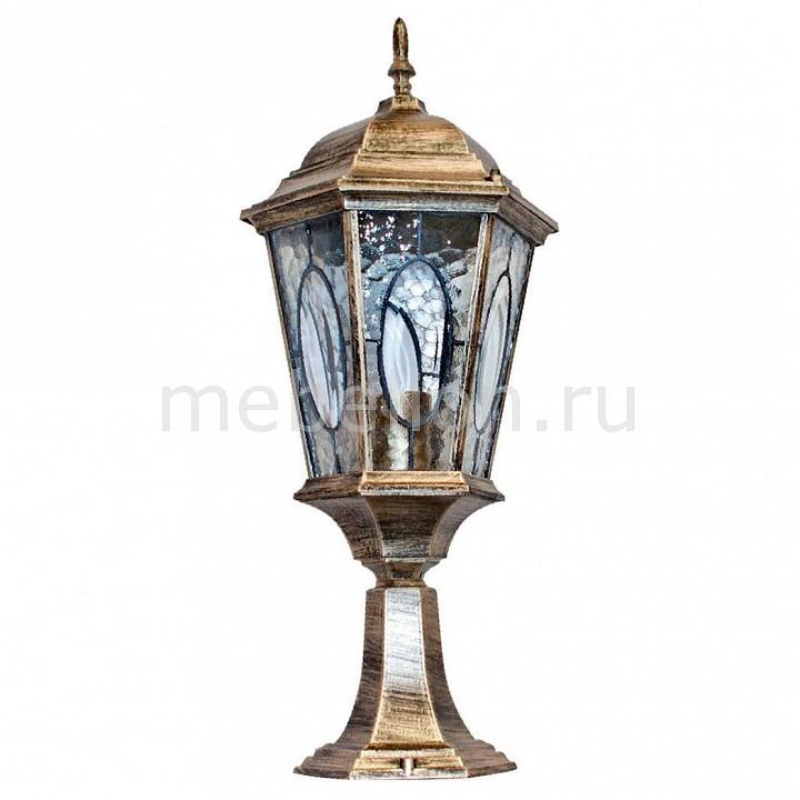 Наземный низкий светильник Витраж с овалом 11322