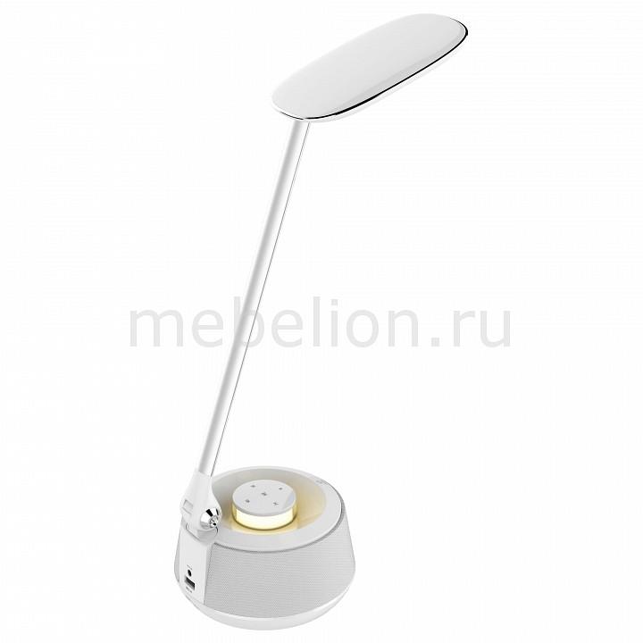 Настольная лампа офисная Speaker A1505LT-1WH Arte Lamp Артикул - AR_A1505LT-1WH, Бренд - Arte Lamp (Италия), Серия - Speaker, Гарантия, месяцы - 24, Ширина, мм - 120, Выступ, мм - 160, Высота, мм - 380, Размер упаковки, мм - 405x130x155, Дополнительная информация по элементам - провод электропитания с вилкой без заземления, Стиль - техно, Рекомендуемые помещения - Кабинет, Офис, Масса нетто, кг - 1.39, Диапазон рабочих температур - комнатная температура, Дополнительные параметры - поворотный свтильник, bluetooth динамик, usb-зарядка