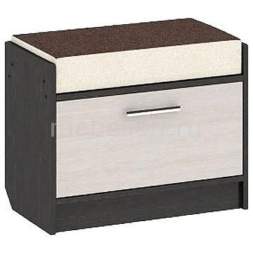 Тумба для обуви Мебель Трия Т4 Арт (мини) венге цаво/дуб белфорт тумбочка мебель трия прикроватная токио пм 131 03 см дуб белфорт венге цаво