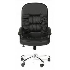 Кресло компьютерное Chairman 418 черный/хром