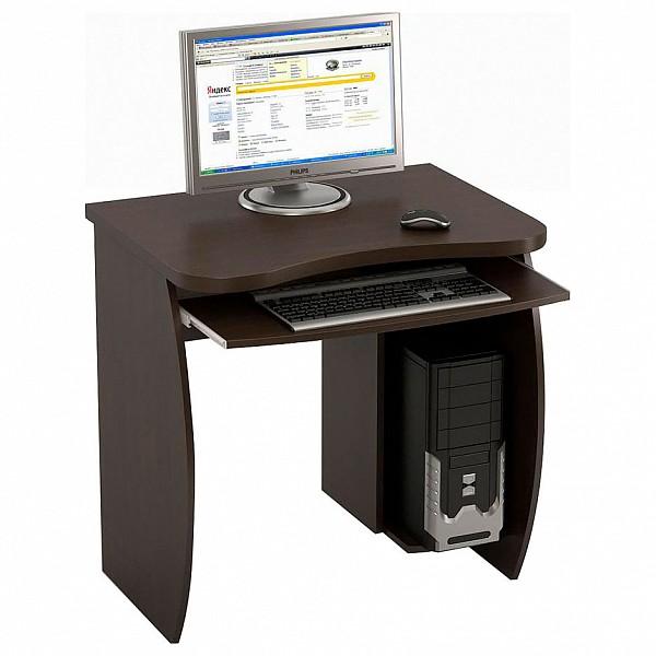 Стол компьютерный Бекас КС-6 венге Стол компьютерный Бекас КС-6 венге NYA_kc-6_d_wenge