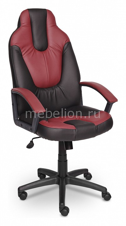 Кресло компьютерное Neo 2 черный/бордовый