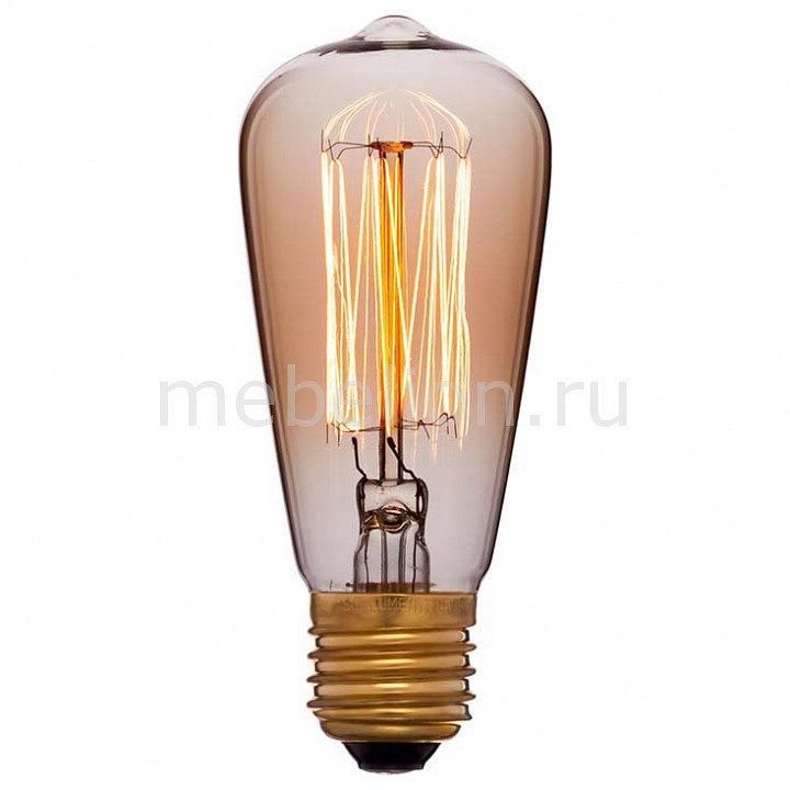 Лампа накаливания Sun Lumen ST48 E27 240В 25Вт 2200K 053-549