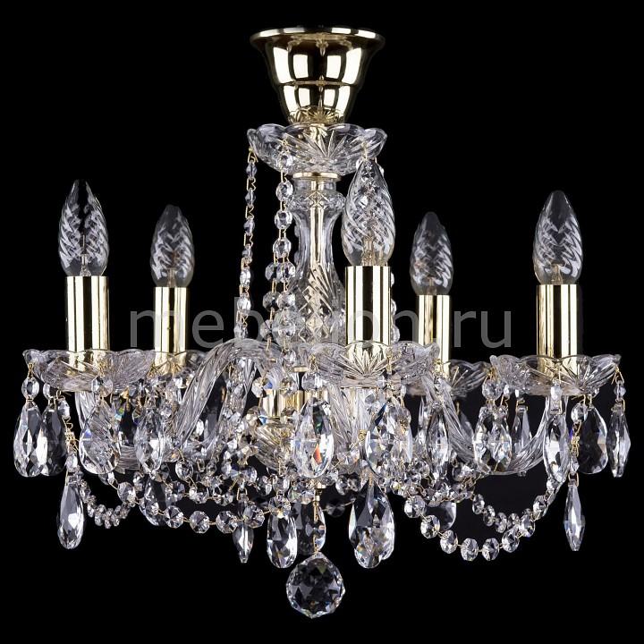 Подвесная люстра Bohemia Ivele Crystal 1402/5/141/G/Tube 1402
