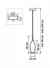 Подвесной светильник Lightstar 803028 Pentola