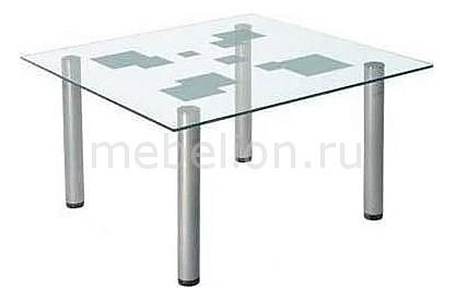 Стол журнальный Мебелик Робер 9М металлик