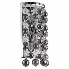 Накладной светильник Crystal Lux MALLORCA AP2 CHROME/SMOKE Mallorca