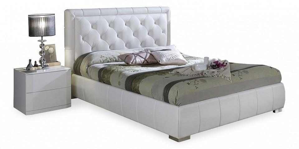 Кровать двуспальная Dupen Cinderella 1.6 белый dupen t 017 хром