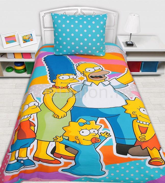 Комплект детский Mona Liza Simpsons mona liza mona liza плед monet classic 140 180 пыльная роза