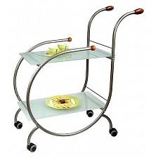 Стол сервировочный Мебелик Зеро металлик