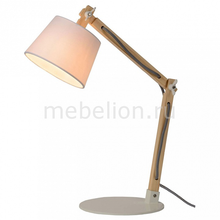 Настольная лампа офисная Lucide Olly 03600/01/31 цена 2017