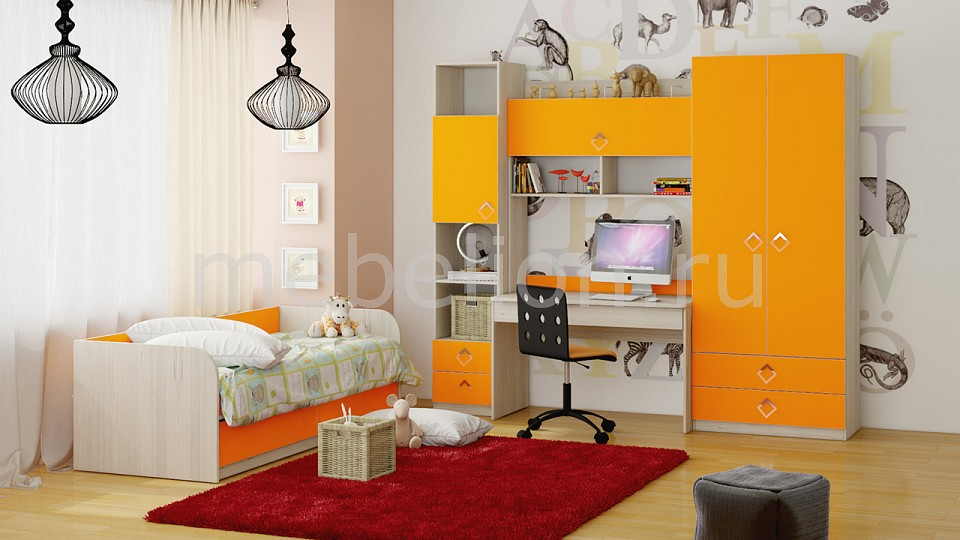 Гарнитур для детской Мебель Трия Аватар ГН-201.008 чай  кофе и какао