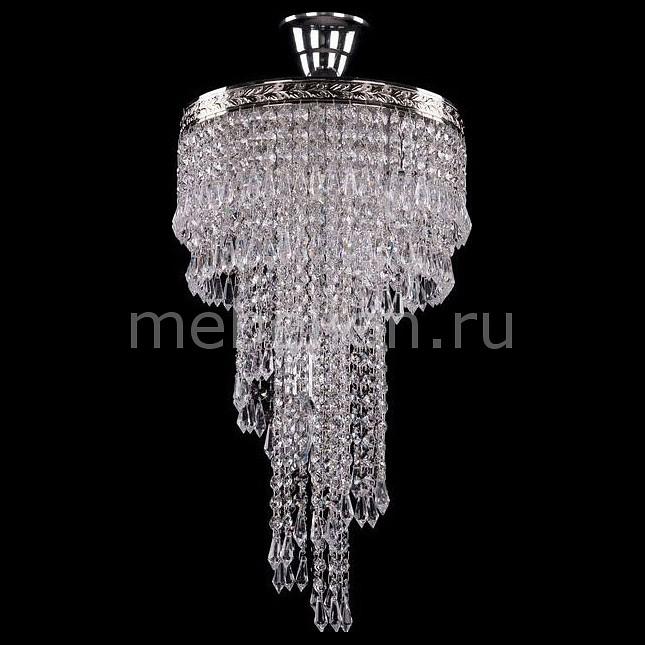 Люстра на штанге Bohemia Ivele Crystal 8311/30/50/Ni латунь листовая размер 300 на 200 мм дешево толщина 0 5 мм екатеринбург