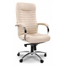 Кресло компьютерное Chairman 480 бежевый/хром, черный