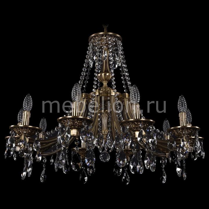 Подвесная люстра Bohemia Ivele Crystal 1771/10/270/A/FP 1771