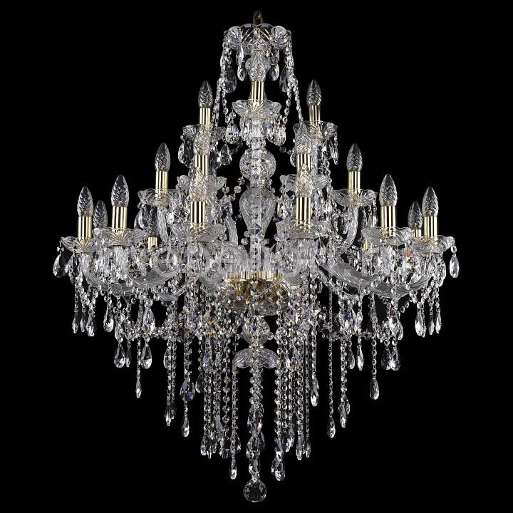 Подвесная люстра Bohemia Ivele Crystal 1415/12+6+3/300/G 1415