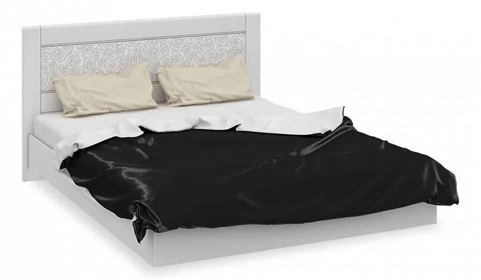 Кровать двуспальная Амели СМ-193.01.001-М