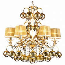 Подвесная люстра Arte Lamp A1199LM-6GO Monarch