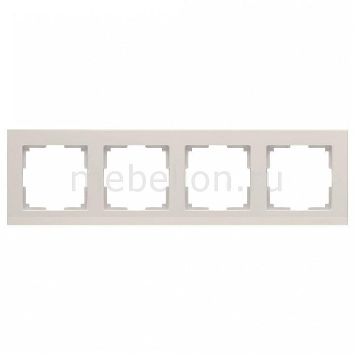 Рамка на 4 поста Werkel Stark WL04-Frame-04-ivory рамка на 2 поста werkel stark wl04 frame 02 ivory